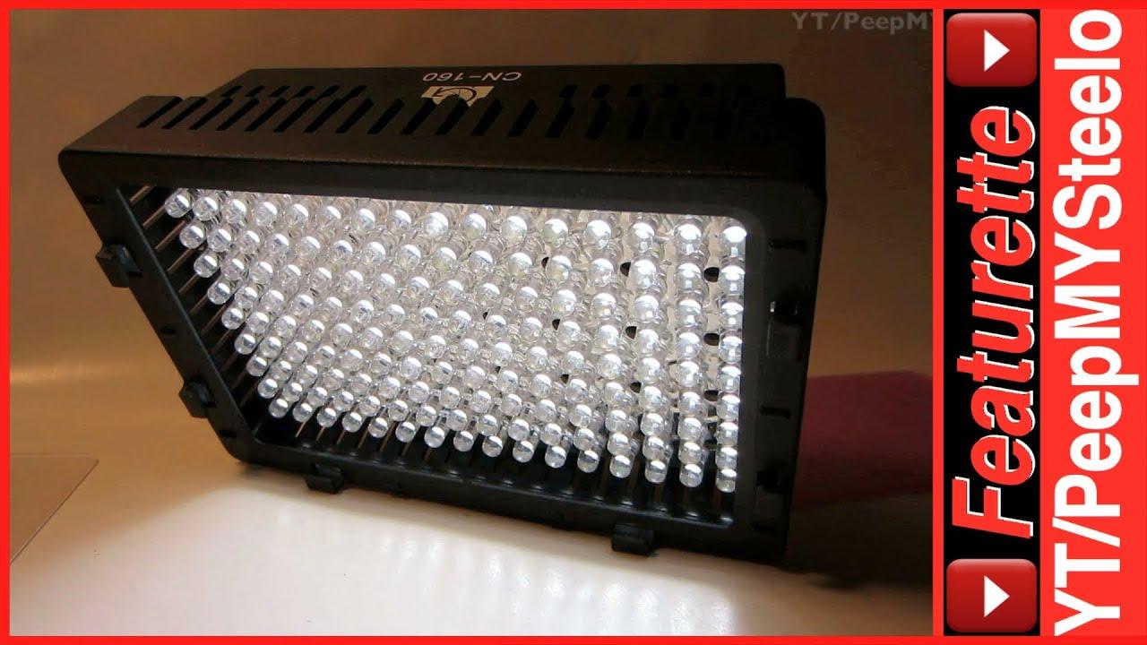 Battery Powered Led Camera Light For Best Low Light