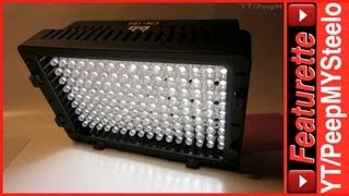 Battery Powered LED Camera Light For Best Low Light Digital Video Lighting For Equipment Kit Sets