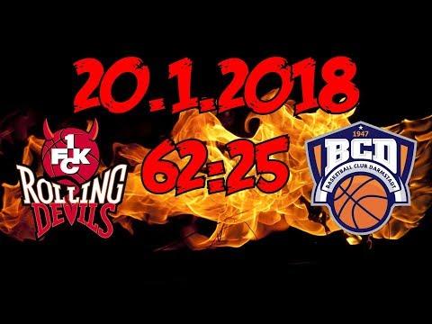 Rolling Devils 62:25 BC Darmstadt - 20.1.2018 - HEIMSIEG!