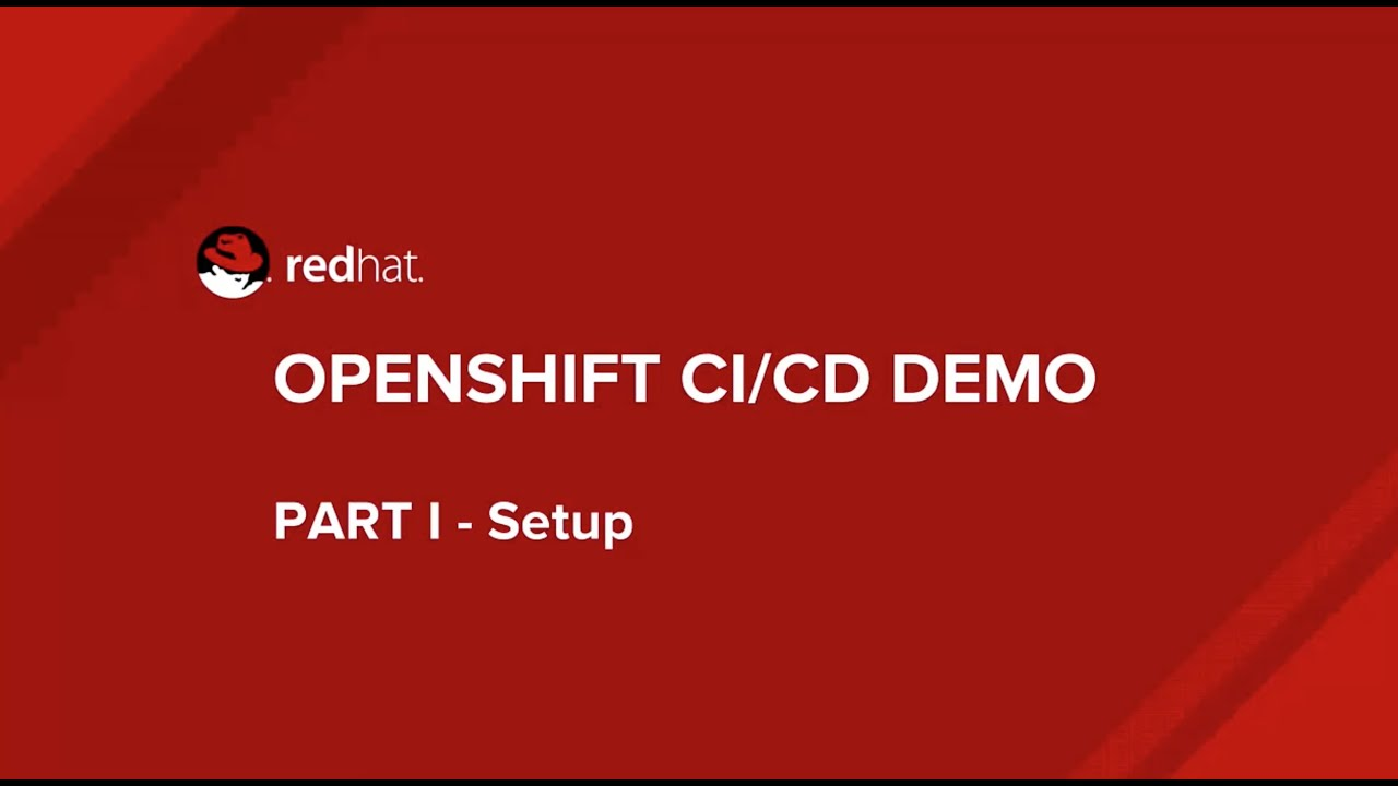 CI/CD with OpenShift – Red Hat OpenShift Blog