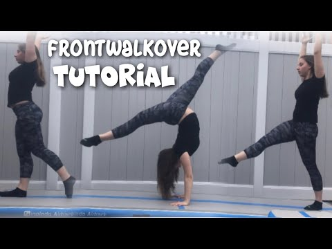 How To Do A Front Walkover In One Day!! (for Beginners)