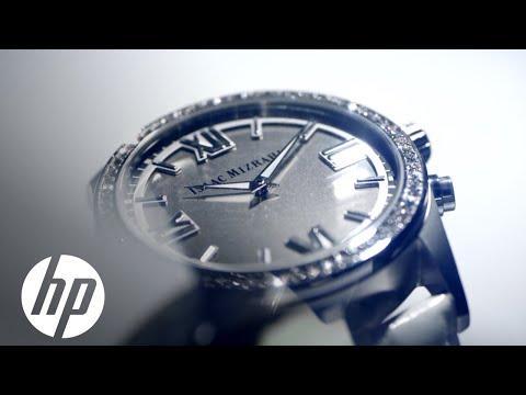 49b54fd6873b HP pone el cerebro y Swarovski la distinción en los relojes de Isaac Mizrahi