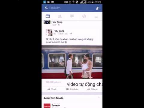 Hướng dẫn tắt video facebook tự động play trên di động