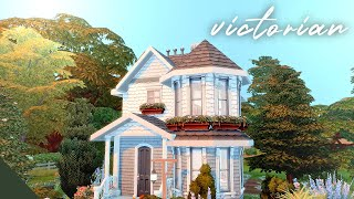victorian starter home ~ the sims 4: speed build