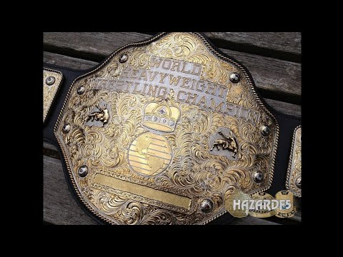 Real Crumrine WCW / NWA Big Gold World Heavyweight Championship Title Belt