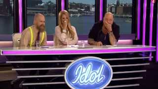 TOP 10 IDOL AUDITIONS EVER (SWEDEN)