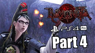 BAYONETTA REMASTER Gameplay Walkthrough Part 4 - All Collectibles | No Commentary (PS4 PRO)