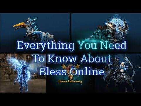 Everything You Need To Know About 🦁Bless Online in less than 30 minutes (Prepare for Early Access)