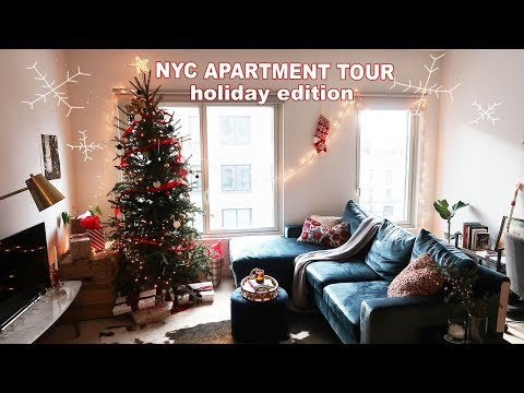 NYC APARTMENT TOUR | Christmas Decor Edition