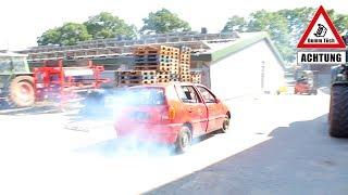Fahren ohne Motoröl | Dumm Tüch