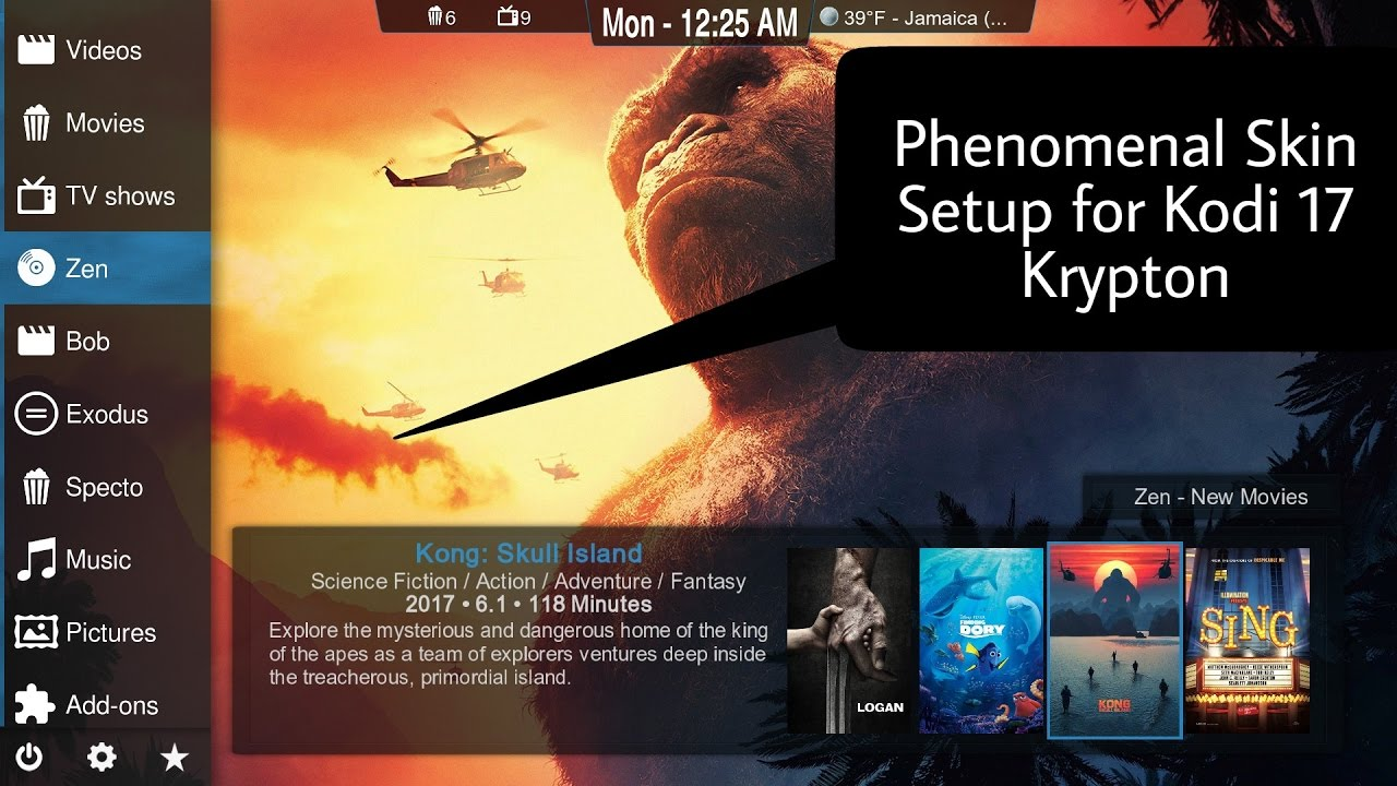 Kodi Krypton Build Not Working