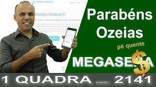 PORTAL COMO JOGAR NAS LOTERIAS PREMIACAO QUADRA MEGASENA COM 21 NUMEROS CLEBER CAMPOS