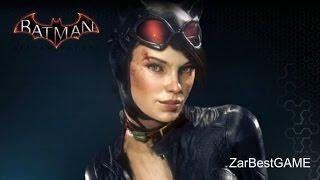 batman Arkham Knight - Загадочник. Спасаем Женщину Кошку  Batgirl. Прохождение #5  Walkthrough
