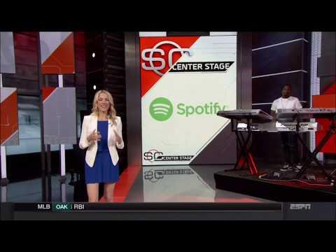 Lindsay Czarniak, Cassidy Hubbarth, Sara Walsh (ESPN)