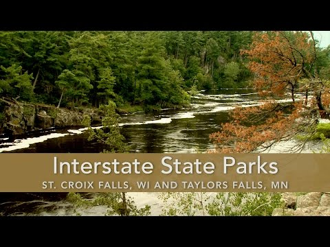Interstate State Parks; St. Croix Falls, WI and Taylor Falls, MN
