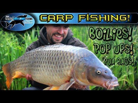 Carp Fishing With Boilies, Pop Ups And PVA Bags | TAFishing