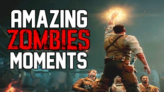 Top 10 AMAZING Call of Duty Zombies Moments Of All Time!