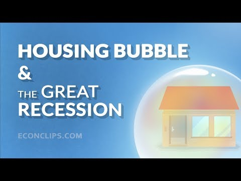 🏡⬇ Housing Bubble And The Great Recession | 2008 Financial Crisis