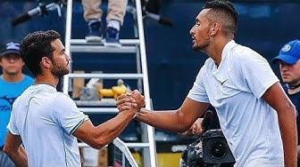 Nick Kyrgios vs Noah Rubin ATP Atlanta Open 2018 2R