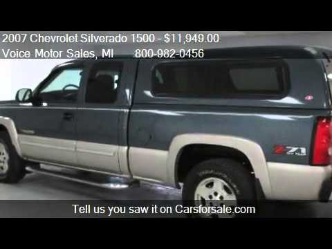 2007 chevrolet silverado 1500 2lt z 71 4x4 special edition for Voice motors kalkaska michigan