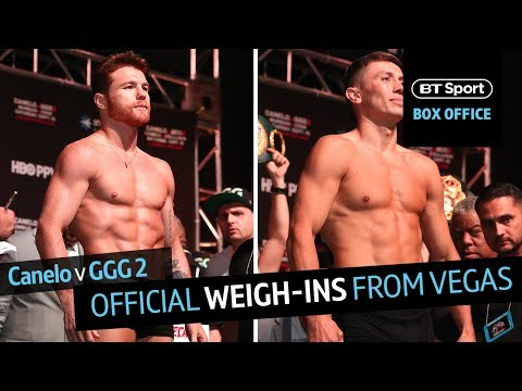 Canelo V GGG 2 Official Weigh-ins In Full