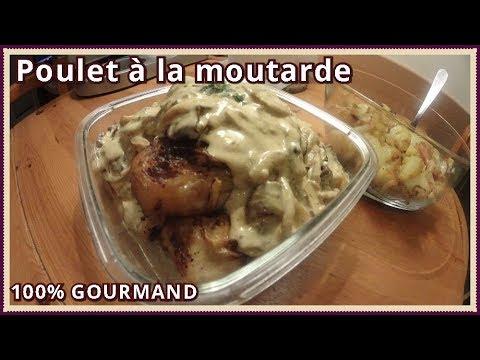 poulet-au-four-sauce-moutarde