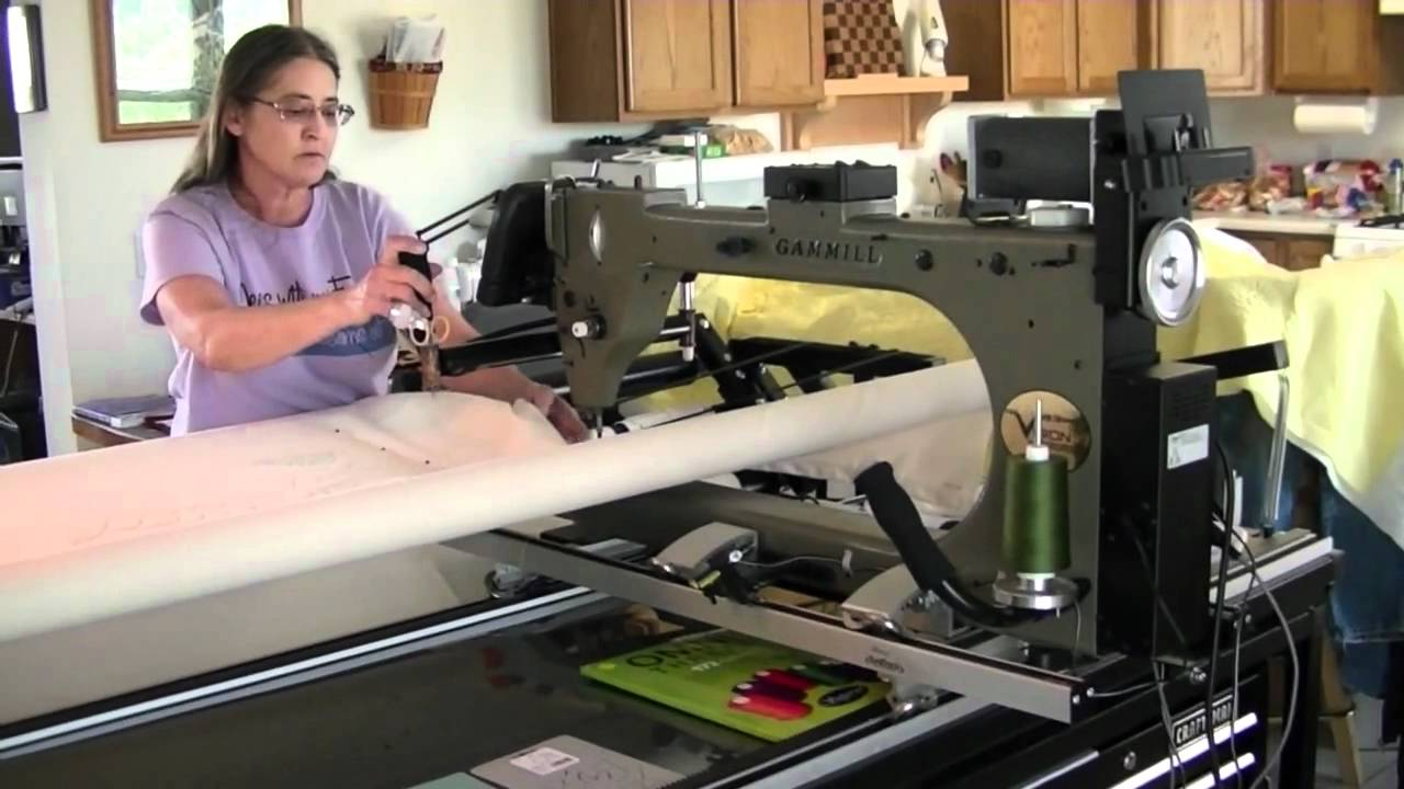 computerized machine quilting machine quilting Computerized longarm quilting