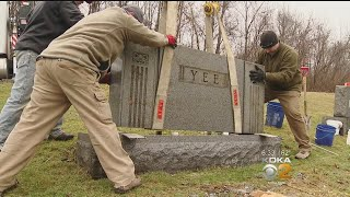 Get Marty: Monument Company Offers Free Repair To Beaver Co. Cemetery In Need