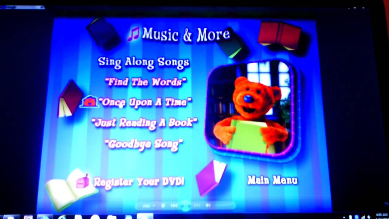 Bear In The Big Blue House Storytelling With Bear Youtube