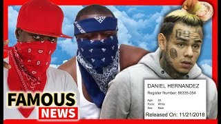 6ix9ine Gets Released Away From Bloods & Crips, Arianna Grande Blasts Piers Morgan | Famous News