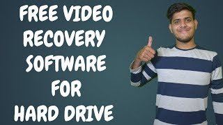 Free video recovery software for hard drive/SD Card-Recoverit.