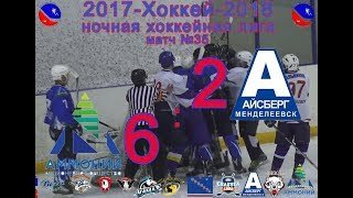 Мактч 35 АММОНИЙ-АЙСБЕРГ 6:2 (НХЛ-2018 Сезон13)