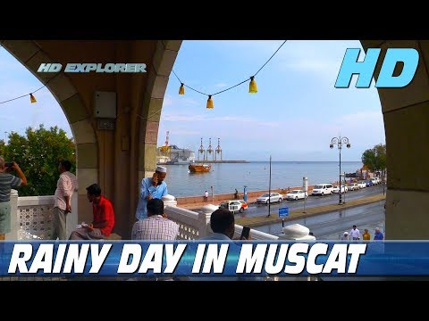 Rainy day in Muscat (Muscat - Oman)