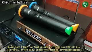 Micro không dây karaoke vừa hay vừa rẻ