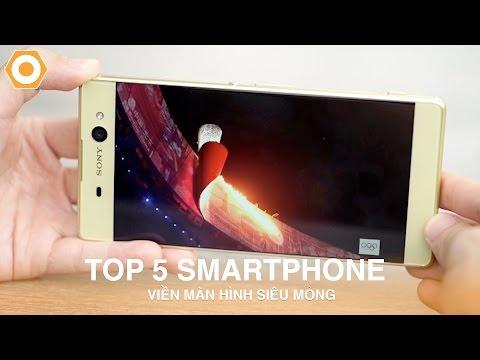 Top 5 smartphone viền màn hình siêu mỏng giá hấp dẫn tại DDTM