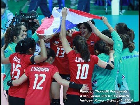 ไทย-ญี่ปุ่น :วอลเลย์บอลหญิงเอเชี่ยนเกมส์ 2014 รอบชิงเหรียญทองแดง: 2.10.2014