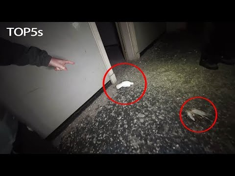5 Creepiest Videos Taken inside Abandoned Locations...