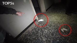 5 Creepiest Videos Taken inside Abandoned Locations...<