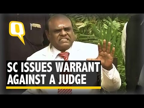 "The Quint | SC Warrant Issued to ""Ruin My Life"": Calcutta HC Justice Karnan"