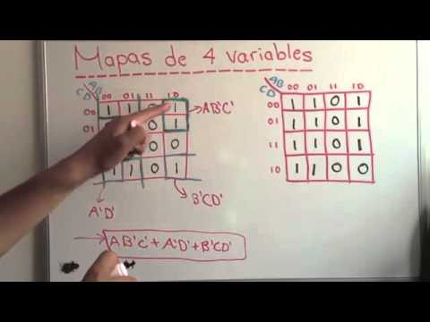 Mapa de Karnaugh de 4 variables YouTube  YouTube