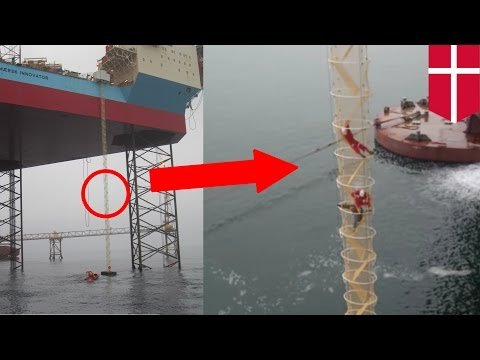 Oil rig escape chute: Cool 81m tall chute can evacuate 146 people in just 10 minutes - TomoNews