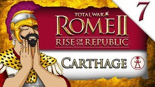 SIEGE OF ROME FINALE! Total War ROME II: Rise of the Republic: Carthage Campaign Gameplay #7