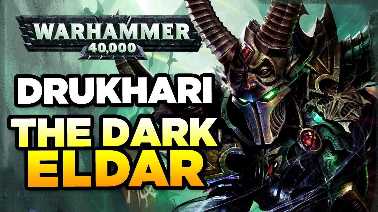 Download 40K - THE DRUKHARI / DARK ELDAR - RACE OVERVIEW | Warhammer 40,000 Lore/History