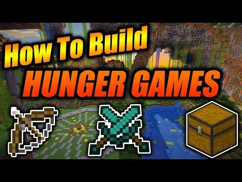 How To Build A Hunger Games Map In Minecraft! - Minecraft Xbox/PE/Java Simple & Easy Tutorial 2018