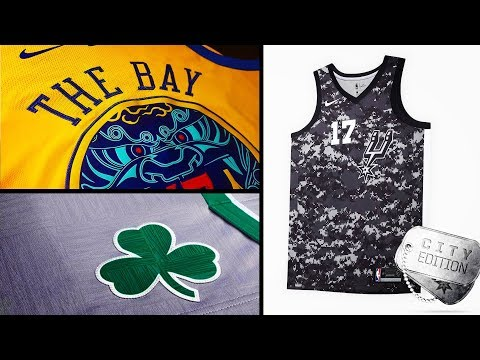 Nike Releases City Edition NBA Uniforms