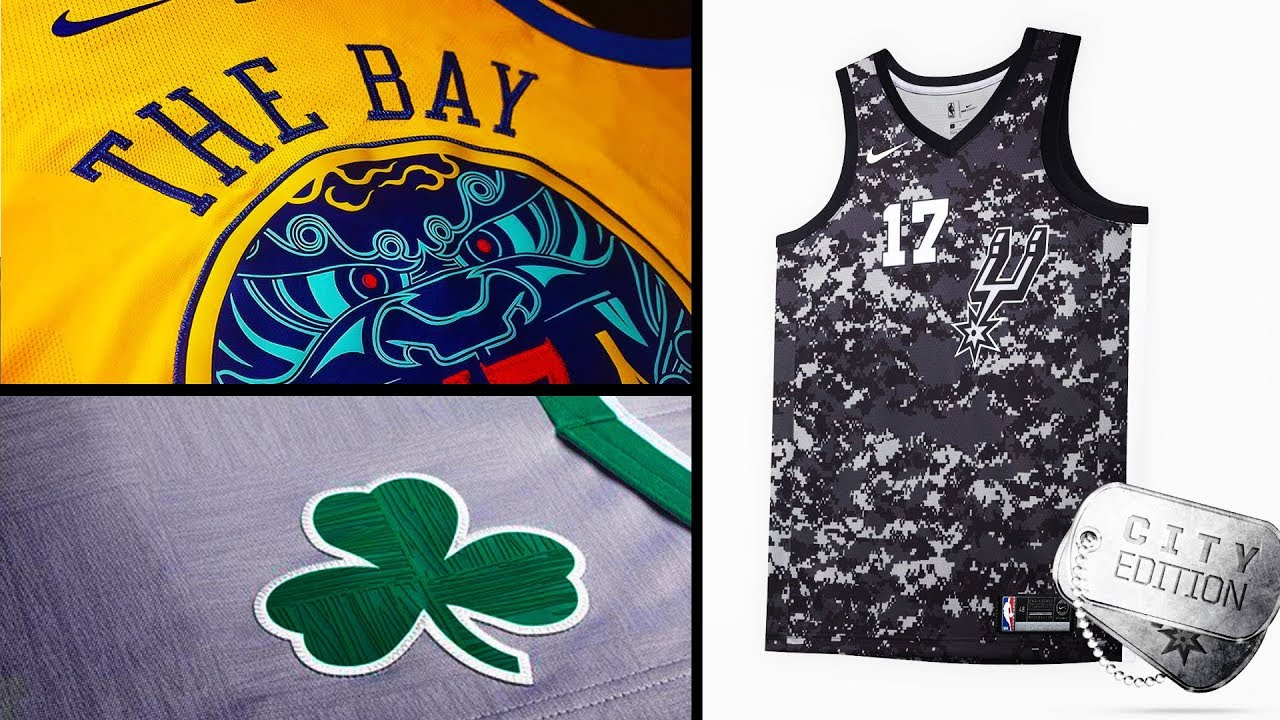 5cc0be21ebc Nike Releases City Edition NBA Uniforms - YouTube