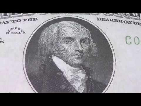Wer war James Madison ? - Der 5.000 US-Dollar Schein