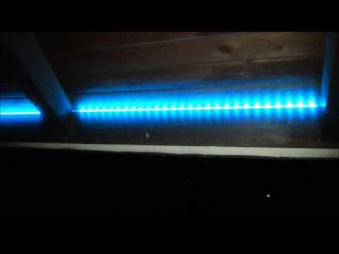 LED-Beleuchtung - Terrasse, Pergola-Bereich - YouTube