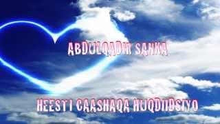 ABDULQADIR SANKA Heesti Caashaqa Huqdiidsiyo
