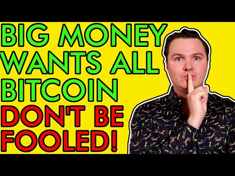 BITCOIN INSANE ACCUMULATION BY BIG MONEY ELITES! DON'T BE FOOLED! [They Want To Buy It ALL!]